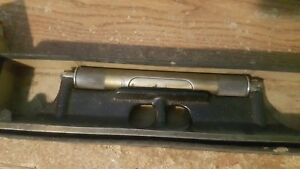 Starrett 12 Inch No 98 Level With Ground Vial great Condition