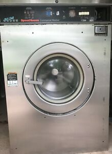 Speed Queen Washer 50lb 3ph Laundromat Coin Commercial Laundry Huebsch dexter