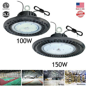 100watt 150watt High Bay Led Light Warehouse Shop Pole Barn Gym Storage Building