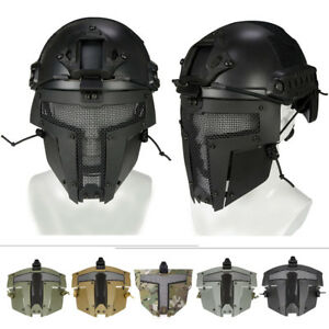 Sparta Tactical Airsoft Paintball SPT Mesh Mask Helmet paintball cosplay Mask