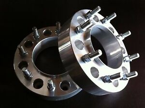 2 Ford F250 F350 Hub Centric Wheel Spacers 1 5 8x170 1999 To 2002 Single Rear