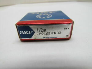 Skf 71904 Acd P4adgb Super Precision Bearing 1 2 Set