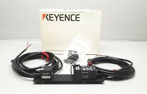 New Keyence Lx2 11 Laser Optical Micrometers Receiver Transmitter