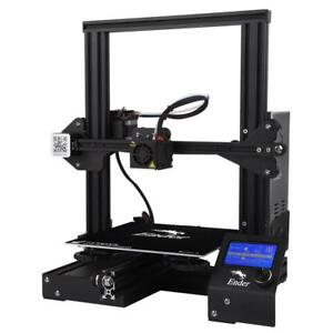 Newest Ender 3 Creality 3d Printer Diy Kit V slot Prusa I3 Upgrade Resume Power