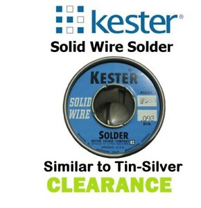 Kester Solid Wire Solder Sn95 Sb05 95 Tin 5 Antimony 093 Clearance