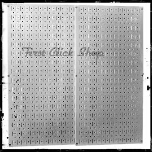 Wall Control Galvanized Steel Pegboard Pack Metal Stronger Than Conventional New