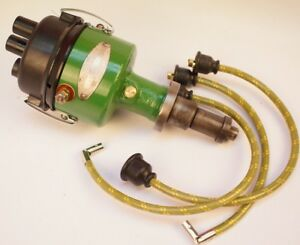 Delco Distributor Ignition W Wires John Deere M Mt Mc 40 40t 420 430 Tractor Jd