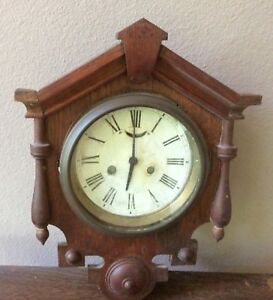 Antique Decorative Waterbury Wall Clock