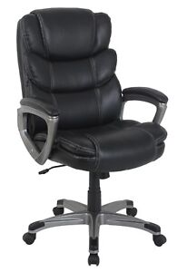 Vinmax Pu Leather High Back Office Chair Executive Task Ergonomic Computer Chair