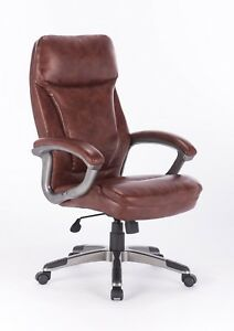 Vinmax Big Tall High Back Executive Chair Heavy Duty Pu Leather Office Chair