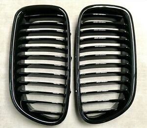 M5 Piano Gloss Black Front Hood Grilles Grille For 11 16 F10 F11 535i 550i