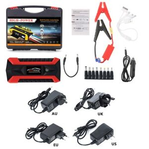 89800mah 4 Usb Car Portable Jump Starter Pack Booster Charger Battery Power Bank
