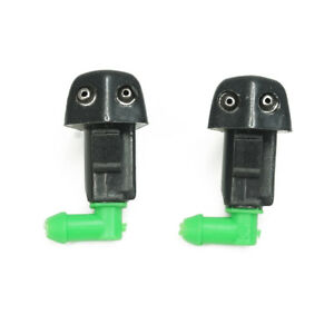 2x New Windshield Washer Water Spray Nozzle For 1998 2002 Honda Accord S84 Co2