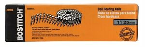 Stanley Bostitch Galvanized Coil Roofing Nails 1 Length 7200 Box