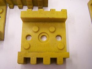 Qty 21 Flexco St5 16 Ready Set Yellow Comb Block For Rsc187 Lacing Tool