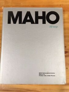 Maho Technical Manual For Horizontal Machining Center Mc 5 Hs 76 26502