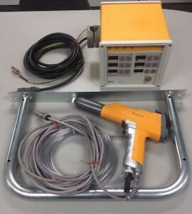 Gema Optitronic Powder Coating Controller And Easyselect Powder Gun