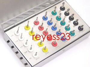 Dental Implant Stoppers Drills Kit 30 Pcs With 8mm 10mm 11 5mm 13mm 16mm Lengths