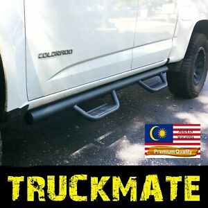 Fit 2015 2021 Canyon Colorado Crew Cab Running Boards Nerf Bars Side Step