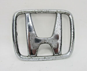 Honda Prelude 75701 Ss0 Rear Trunk Lid H Emblem Logo Chrome Symbol Badge 92 96