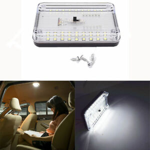 36 Led Car Vehicle Interior Dome Roof Ceiling Reading Trunk Light Lamp 12v
