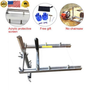 Chainsaw Mill 20 Inch Lumber Planking Milling Guide Sawmill For Wood Cutting