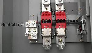 Double Throw 400 Amp Generator Manual Transfer Switch Dt225urk nps