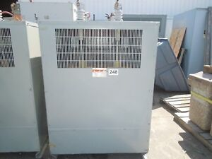 Neco Hammond 500kva 8320 277v 1ph Dry Type Transformer Used Electrically Ok