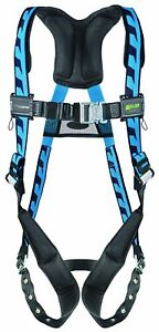 Honeywell Fall Protection Blue Construction Tux Safety Vest Harness Large Or Xl