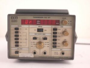 Tti 1120 Transmission Test Set Telecommunications Technology