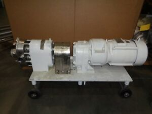 Tri clover Positive Displacement Pump 1 2 Outlet And Inlet pred25 3m yh4 sl s