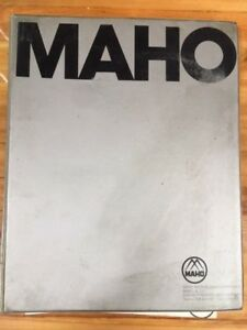Maho Technical Document Mh c700 Cnc Universal Toolroom Milling Boring Machine