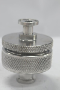 Cuno 70225 01a Stainless Steel 47mm In Line Mesh Screen Filter