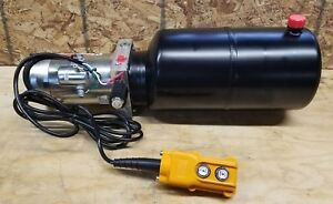 12 Volt Dc Hydraulic Power Unit Single Acting 2500 Psi