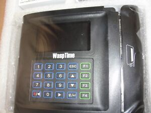 Wasptime Time Clock Magstripe Tv7 Software Bar Code Employee Attendance System