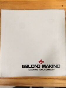 Leblond Makino Operator Programmer Manual Fanuc Mate Tc Ct40 Cnc Lathe Count 15