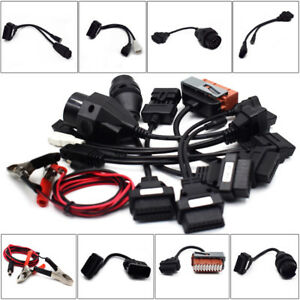 8pcs Obd Obdii Cables For Cdp Tcs Hd Pro Cars Diagnostic Interface Scanner Super