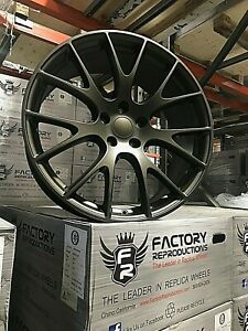 4 20 Staggered Hellcat Style Wheels Rims Bronze Challenger 300c Charger