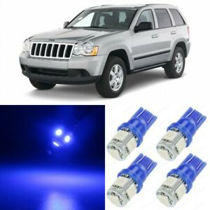 14 X Blue Interior Led Lights Package For 2005 2010 Jeep Grand Cherokee tool