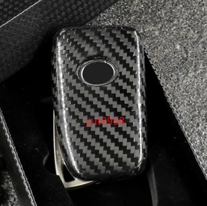 Real Carbon Fiber Remote Key Fob Case Shell For Lexus Nx200 Nx200t Nx300h 15 18