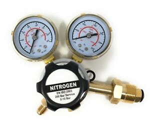 Nitrogen Regulator 3000 Psi Cga580 Inlet And 1 4 inch Male Outlet Gas Hvac