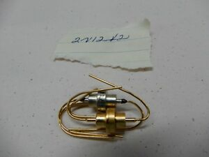 Transistor Lot Of Two 2n1242 One Hughes One Gold Plated Nos