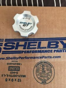 Shelby Gt Power Steering Cap New 2007 2009