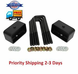 2 Rear Leveling Lift Kit For Chevy Silverado 2007 2019 Gmc Sierra 2007 2019 New