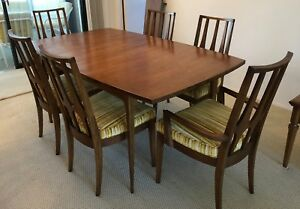 Vintage Brasilia Dining Table And Six Chairs Mid Century Modern Local Pickup