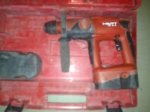 Hilti Te 2 a Hammer Drill 24 Volt Cordless Tool batteries Wont Hold Charge