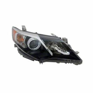 Headlight Assembly Right Autozone lkq parts To2503212n Fits 2012 Toyota Camry