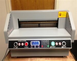 Electric Paper Cutter True 18 460mm Chinese Are Lying Calling 450mm 18