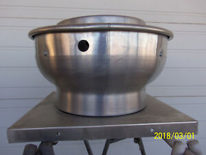Dayton 4yc44 Updraft Mobile Kitchen Exhaust Ventilation Fan