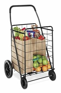 Utility Carts With Wheels Yard Folding Collapsible Rolling Shopping Kitchen Cart